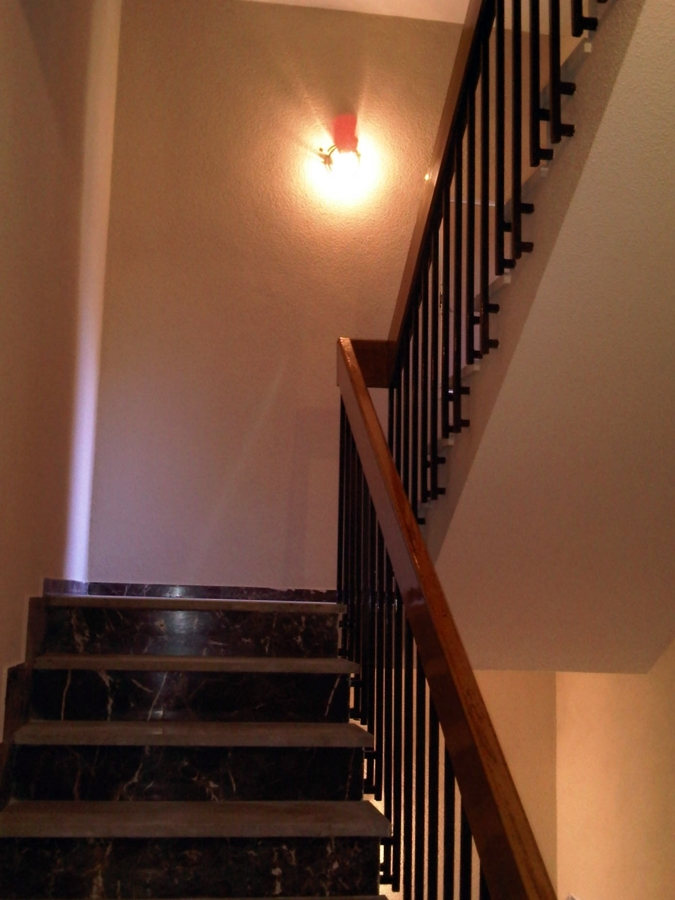 pintura de escalera