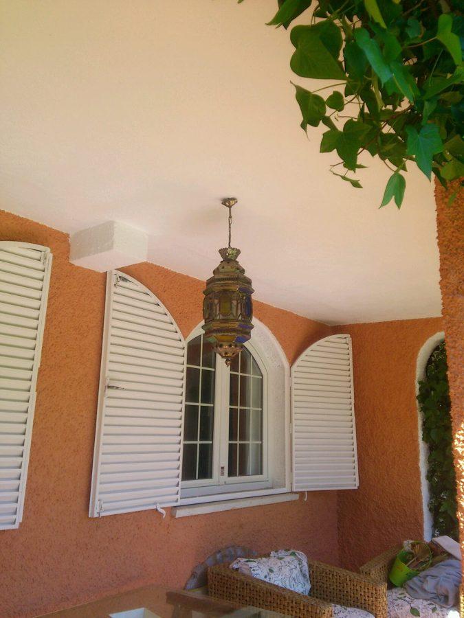 Foto pintura de fachada de chalet de trabajos verticales - Pintura para fachada ...