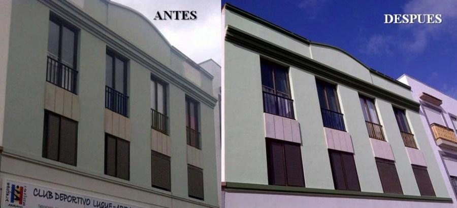 Foto pintura de fachada de hr trabajo vertical 230805 - Pintura para fachada ...