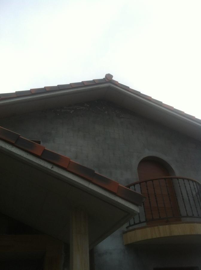 Pintura de fachadas de mortero en obra nueva