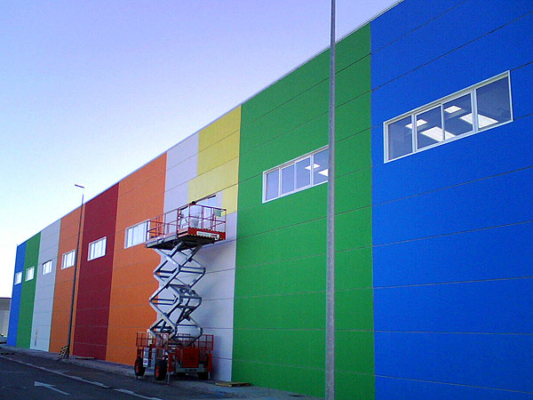 Foto pintura de fachadas de dscolor 133658 habitissimo - Pinturas de fachadas ...