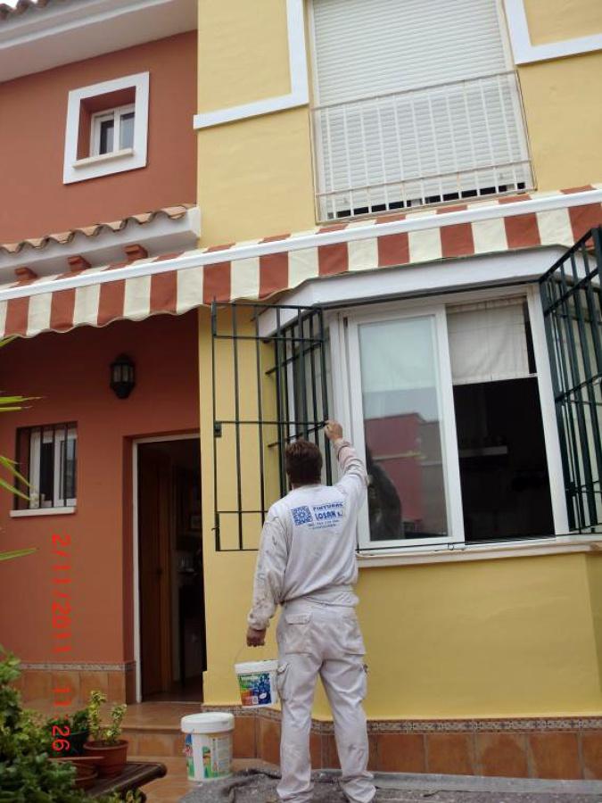 Foto pintura decorativa de fachadas de pinturas losan s c - Pinturas de fachadas ...