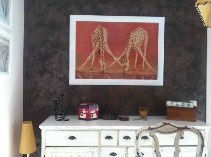 Foto pintura efecto arena con acabado en metal de agl - Pinturas arenas granada ...