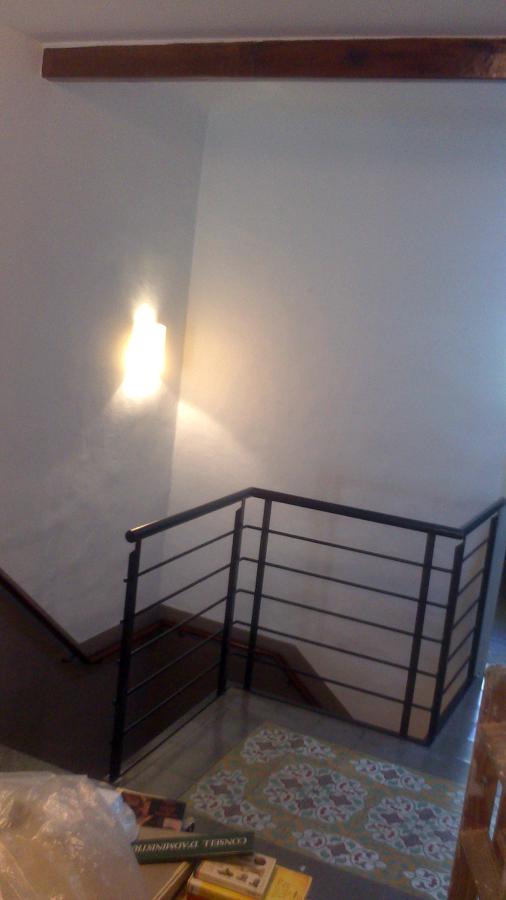 Pintura. escaleras