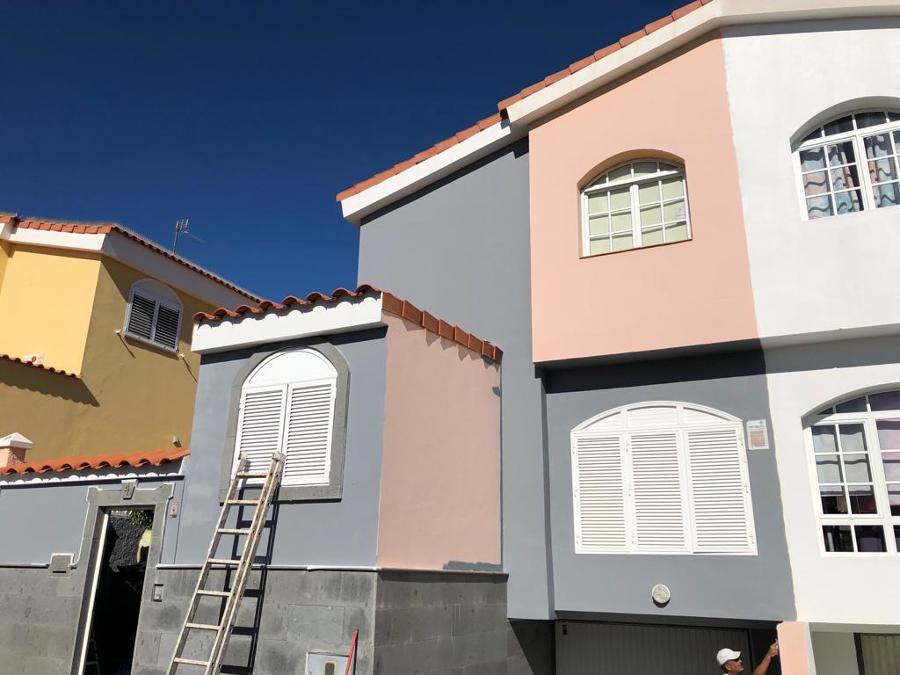 pintura exterior de fachada vivienda adosada 5.JPG