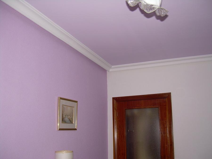 Pintura interior de vivienda