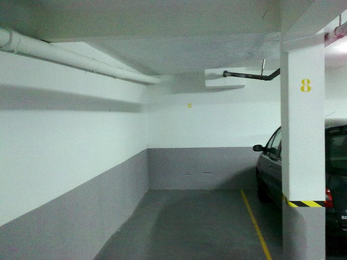 Foto pintura parking de mondabi 182858 habitissimo for Pintura suelo parking