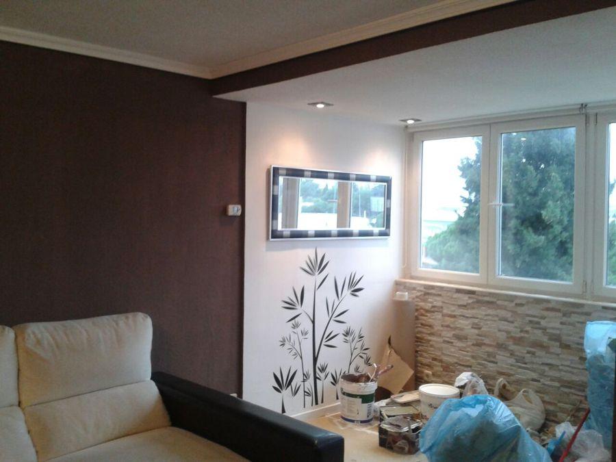 Foto pintura salon de a z reformas 670711 habitissimo - Colores de pinturas para salones ...