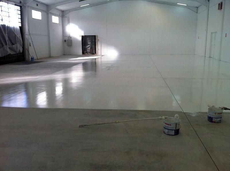 Foto pintura suelo epoxi de arianto decoracion 423347 - Pintura de suelo ...