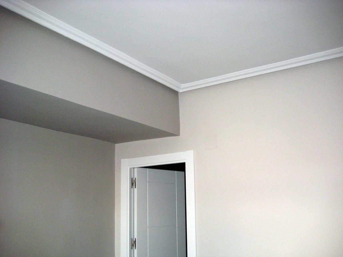 Foto pintura y techo escayola de mosaic obras y reformas - Techos de escayola modernos ...