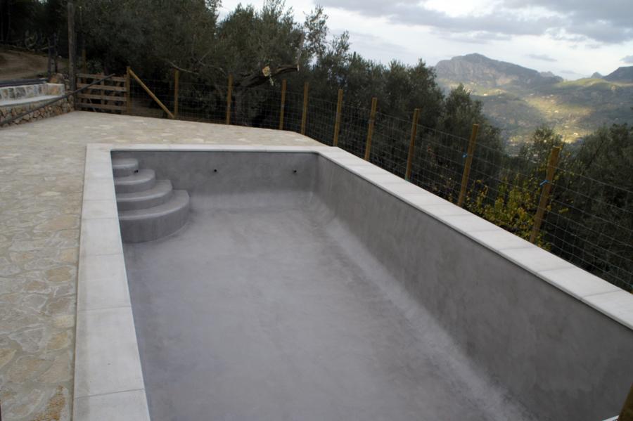 Foto piscina con microcemento de beny 175746 habitissimo - Microcemento para piscinas ...
