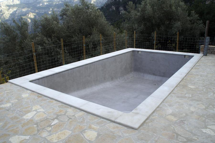 Foto piscina con microcemento de beny 175747 habitissimo - Microcemento para piscinas ...