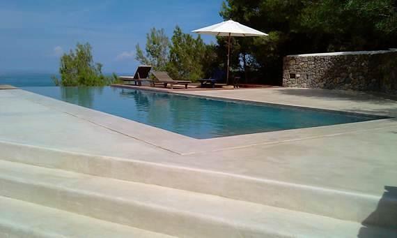 Foto piscina con microcementos de microcementos online - Microcemento piscinas ...