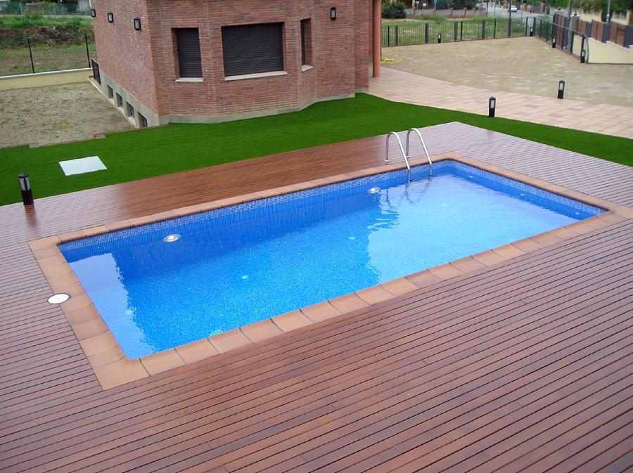 Foto piscina de 7x3 5 ref mart nez de c d almi ana s for Piscinas obra baratas