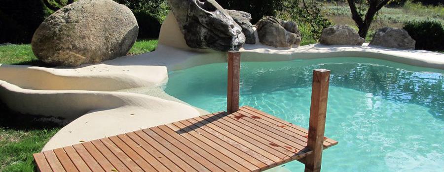Foto piscina de arena artificial de creartribes s c p 293221 habitissimo - Piscinas de arena compactada precios ...
