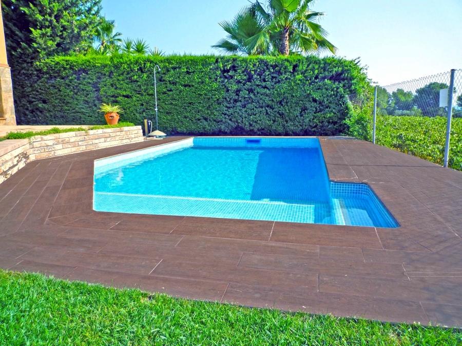 Foto piscina de obra de tienda piscinas s l 400829 - Piscina de obra ...