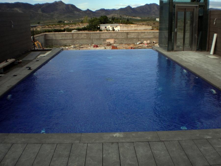 Foto piscina desbordante de piscinas playasol 277569 for Piscina 8x4 precio