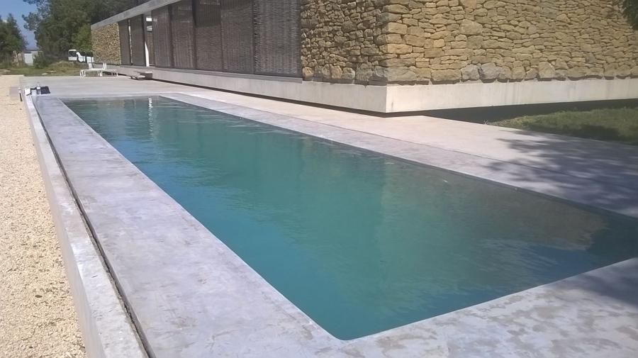 Foto piscina microcemento de enlucidos gallardo sl - Microcemento piscinas ...