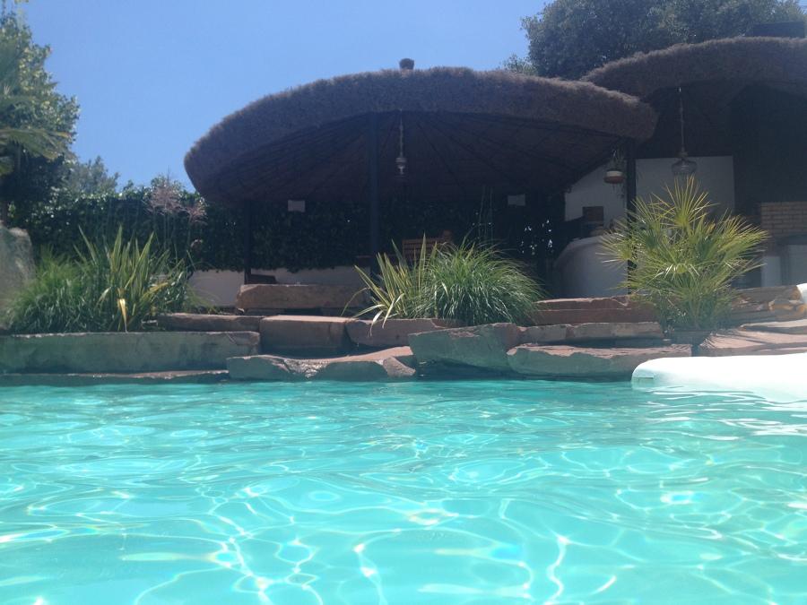 Foto piscina p rgola y jard n domicilio particular de for Piscina y jardin 2002 s l