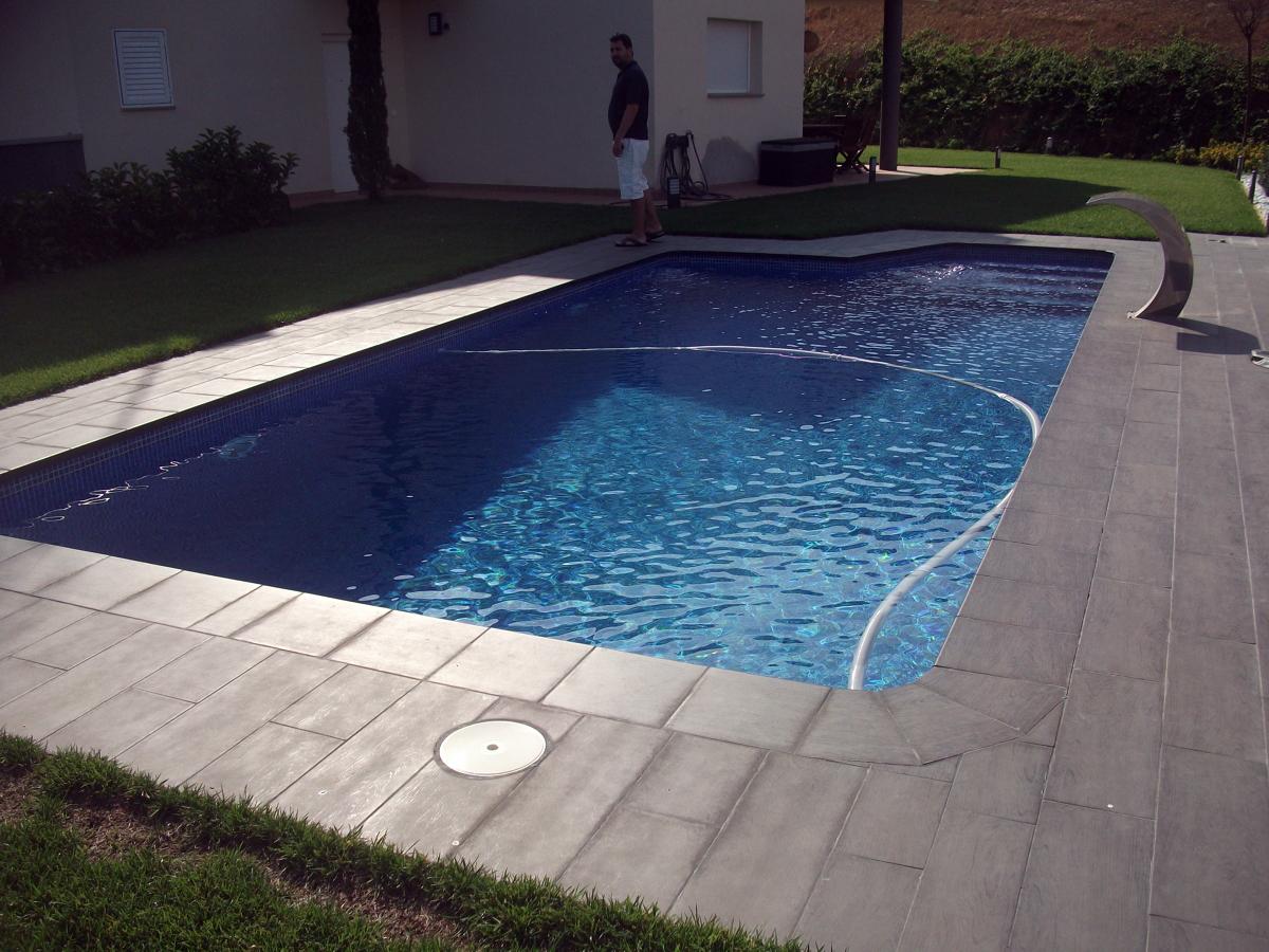 foto piscina rectangular de piscines munt 251105