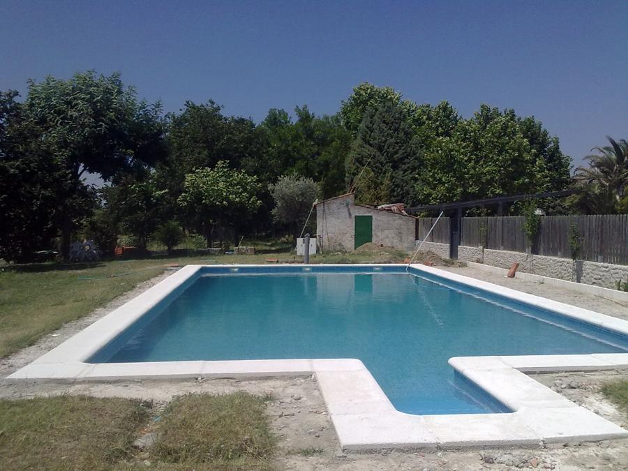 piscina  reparada