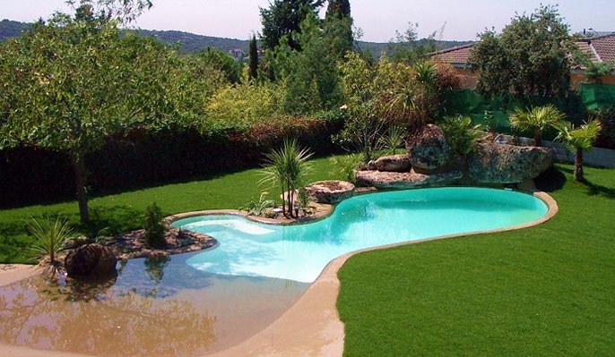 Las piscinas tipo playa es un concepto nuevo en espau00f1a, aunque en ...