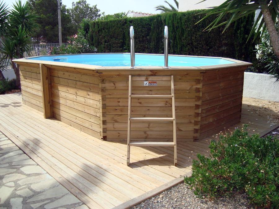 Foto piscinas de madera de aiguanet 450946 habitissimo for Madera para piscinas