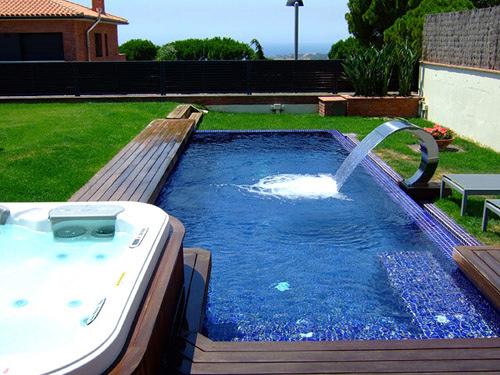 Foto piscinas de obra de el m n de la piscina 235479 for Ver piscinas de obra