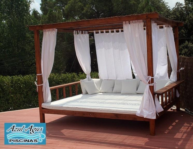 Foto piscinas muebles de bali 972 871 579 girona y for Muebles para piscina