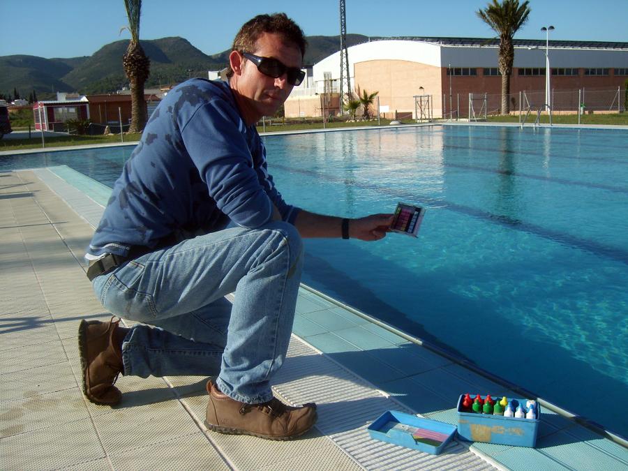 Mantenimiento piscinas municipales
