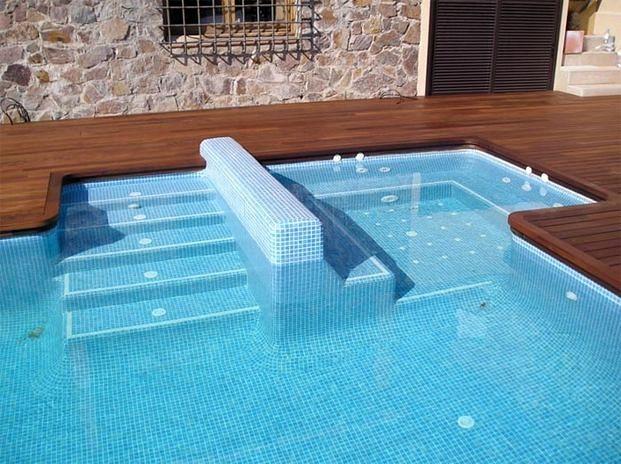 Foto piscins jm rustic 699 972 972 de piscines jm rustic for Jm decoracion granada