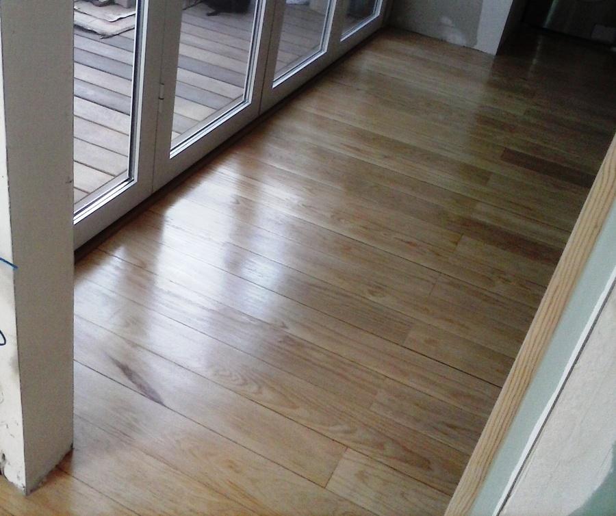 foto piso madera natural de carpinteria hnos santamaria