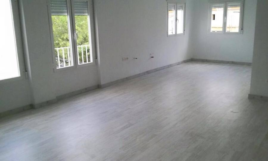 Foto reforma piso con tarima flotante de cuymal 916542 - Fotos tarima flotante ...