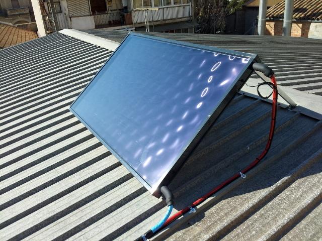 Foto placa solar t rmica de joaquim chaparro ponsarnau - Placa solar termica ...