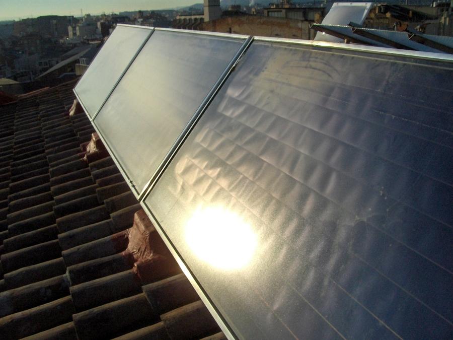 Foto placas solar termica de aplicacions i serveis e10 - Placa solar termica ...