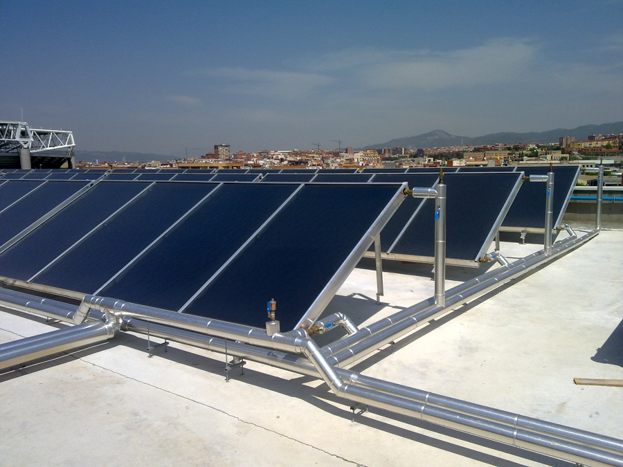 Installation climatisation gainable placas solares agua for Placas solares agua caliente