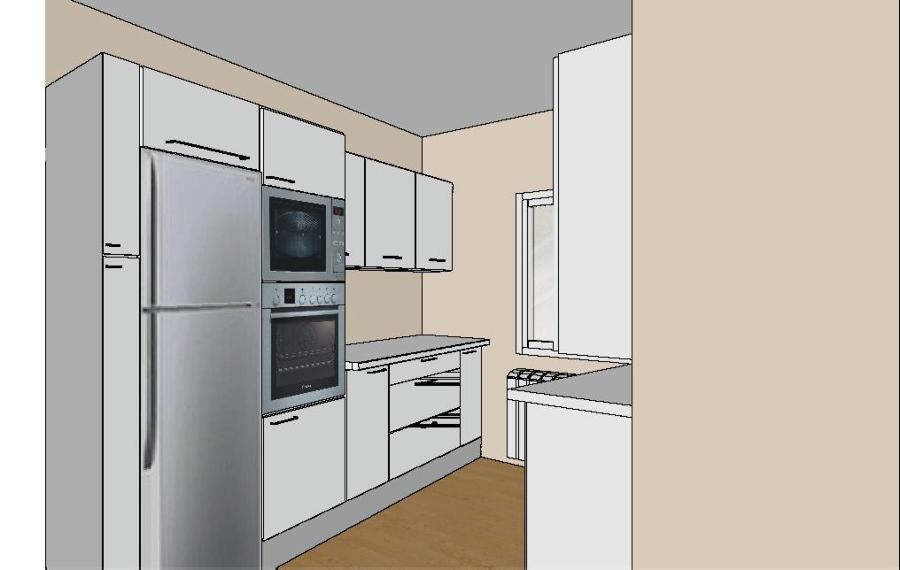 Foto plano cocina moderna de mat as pedro 475949 for Planos de cocinas modernas