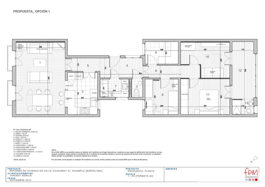 Foto plano general de reforma de fem arquitectura 678738 - Fem arquitectura ...