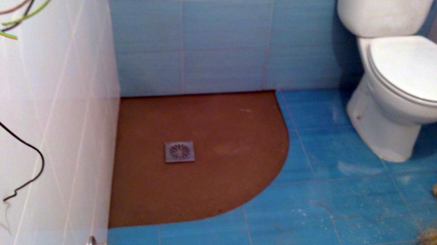 Foto plato de ducha a medida de reformas en general blue - Medidas de los platos de ducha ...