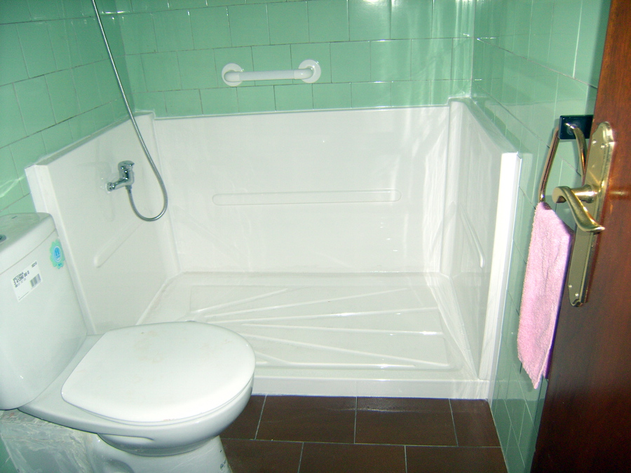 Foto 3 bis plato de ducha antideslizante de baduc - Plato ducha antideslizante ...