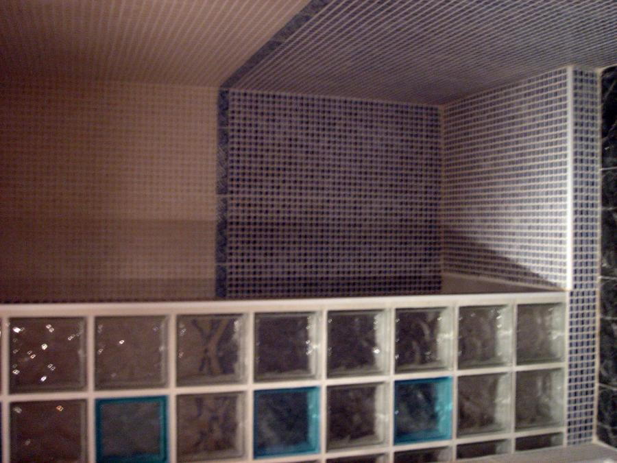 Platos de ducha y mamparas simple mampara de mm plato de - Duchas con paves ...