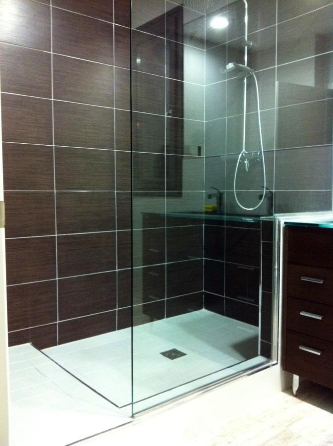 foto plato de ducha de obra de obras y edificaciones page