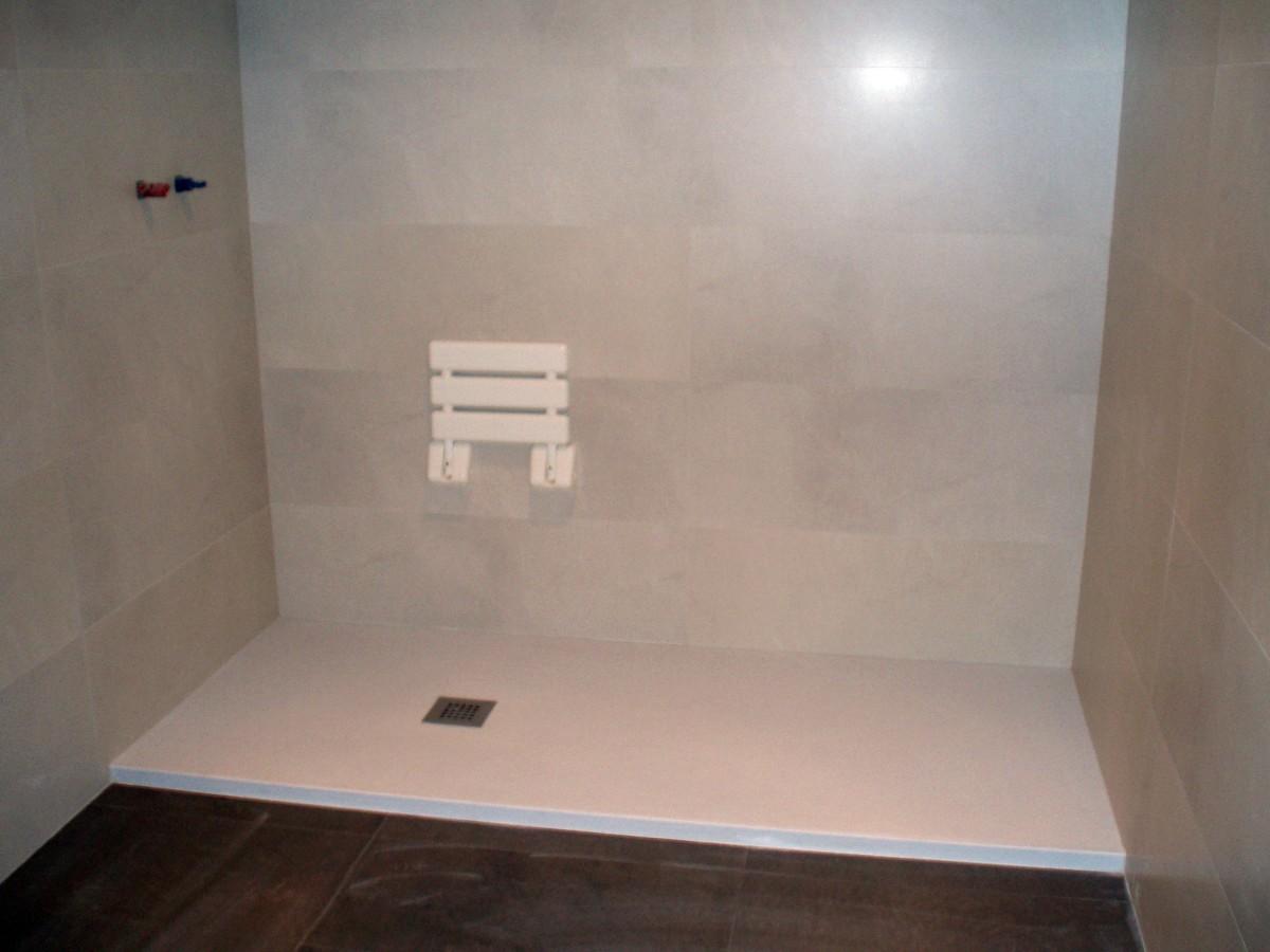 Ba os con plato de ducha silex for Plato de ducha 60x60