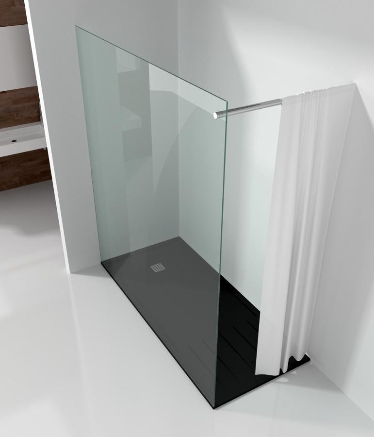 Foto plato de ducha y mampara a medida de ba os de autor for Mamparas ducha a medida