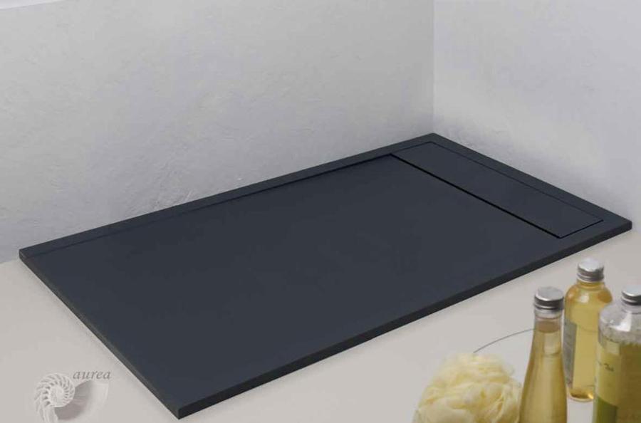 Foto plato ducha extraplano con marco resina y cargas - Plato de ducha 70x70 ...