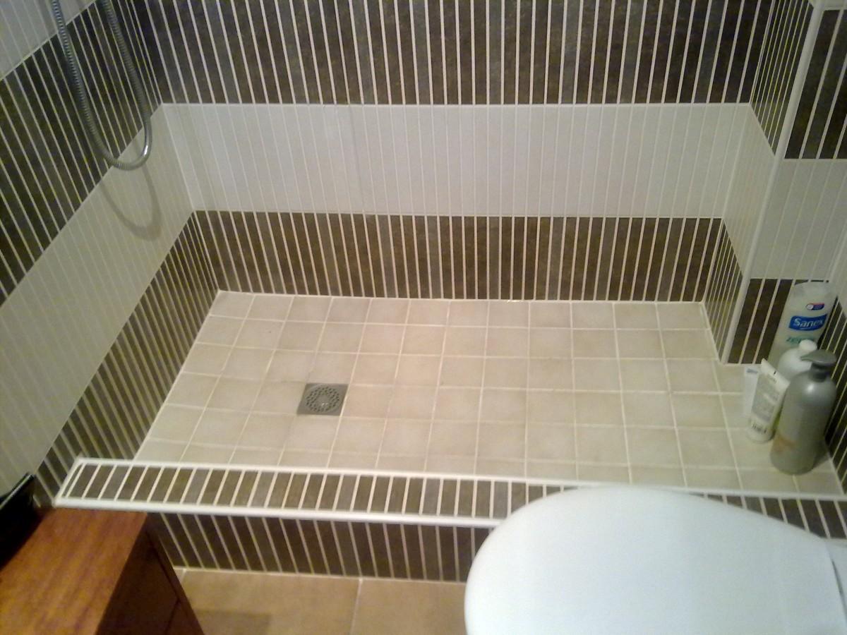 Foto platos de ducha de obra de av construccions s c - Como hacer plato de ducha de obra ...