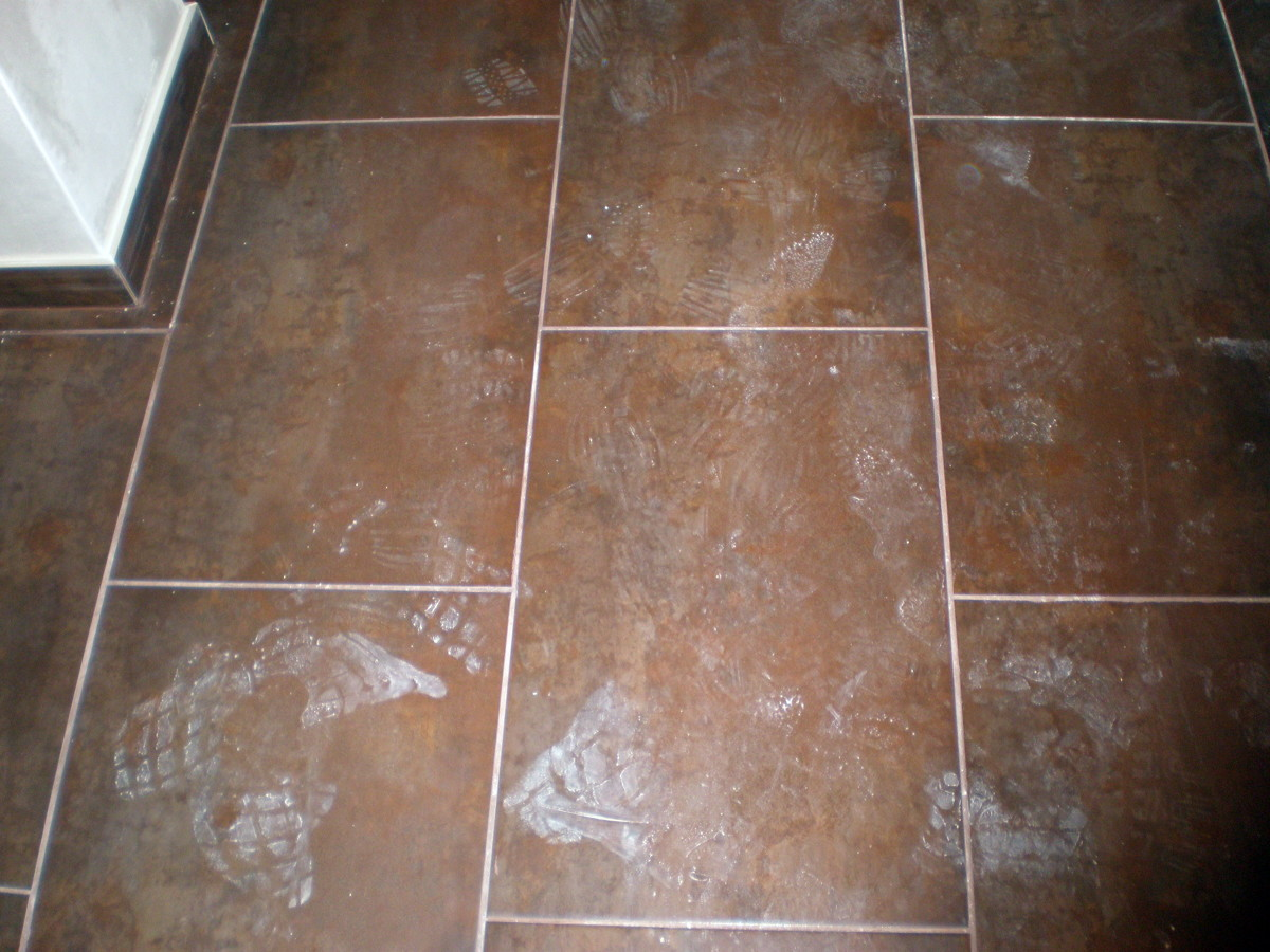 Foto porcelanico en suelo de cocina luanco de corema - Suelos de porcelanico ...