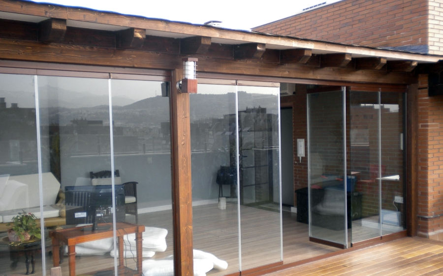 Foto porche de madera de s l carpinteros ebanistas 335250 habitissimo - Carpintero tarragona ...
