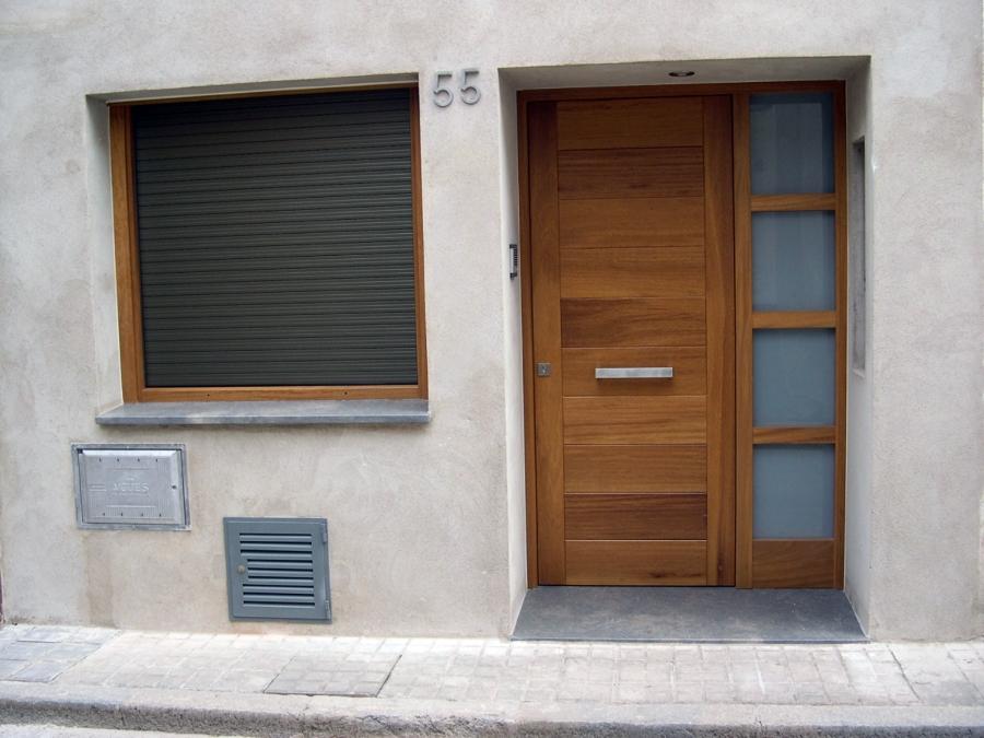 Porta entrada i finestre