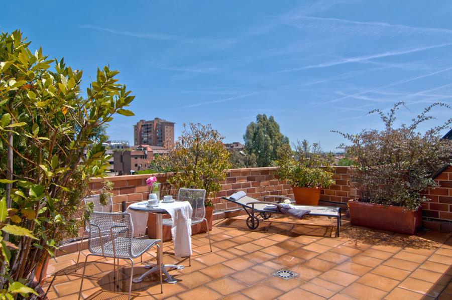 Home Staging para terraza con vistas